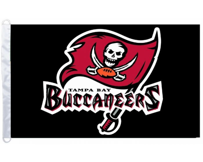 3 Ft X 5 Ft Polyester Nfl Flag Tampa Bay Buccaneers
